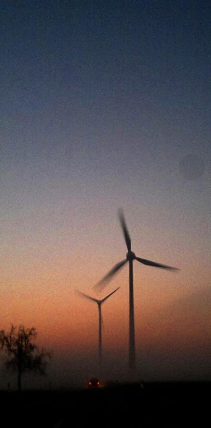 Viel Wind am Morgen