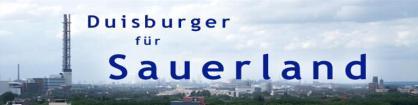 Duisburger für Sauerland