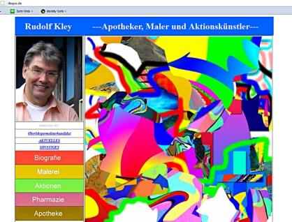 Webseite Rudolf Kley