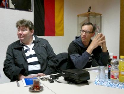 Rudolf Kley und Frank Koglin